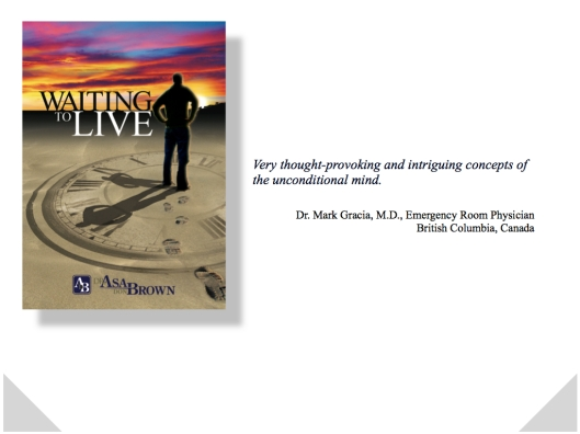 WAITING TO LIVE Card Dr. Mark Gracia